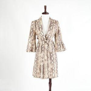 Nine West – Gorgeous Snake Print Skirt Suit – 8